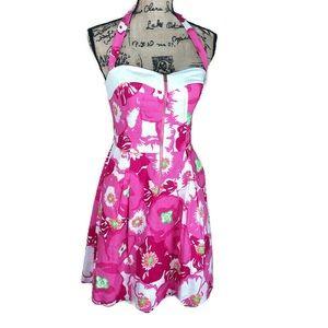 Lilly Pulitzer Marisa Cherry Begonia Dress 6